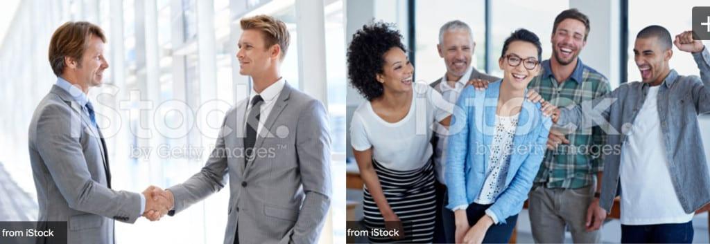 Stockfoto som ikke fungerer